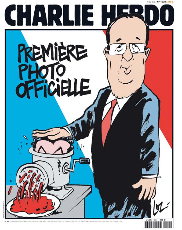 Charlie Hebdo fait de sarkozy de la viande hachée