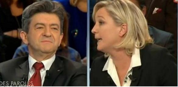 Législative: Marine Le Pen à 42% face à Jean-Luc Mélenchon qui ne sera pas au 2ème tour