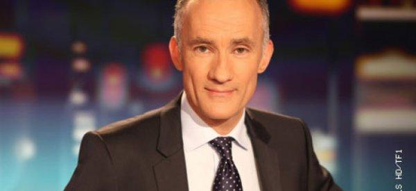 Officiel : Gilles Bouleau, il prendra les commandes du 20h00 de TF1 en septembre