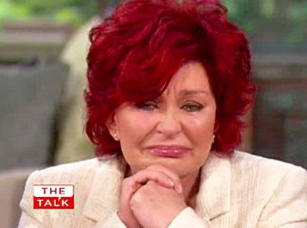 Sharon Osbourne : Elle craque à la télé US en parlant de la maladie de son fils