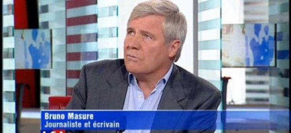 Bruno Masure s'en prend violemment à Franz-Olivier Giesbert sur Twitter