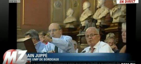 (Vidéo) Gros clash entre Alain Juppé et un socialiste à la Mairie de Bordeaux
