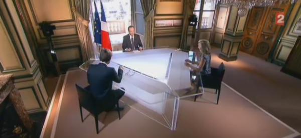 """François Hollande : """"Quand on porte le maillot de l'Equipe de France, il faut du respect !"""""""
