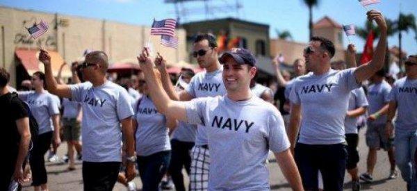 """Etats-Unis : Les soldats en uniforme autorisés à défiler dans la """"gay pride"""" de San Diego"""