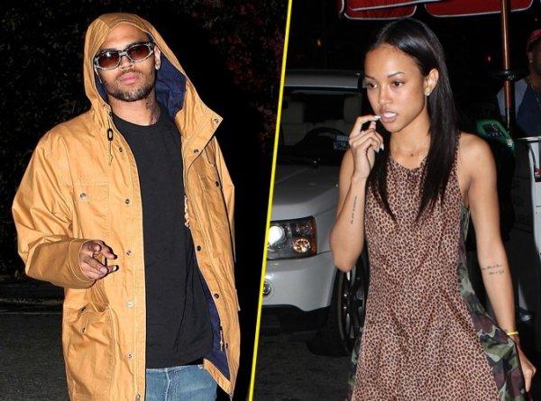 Chris Brown : séparé de sa petite amie Karrueche Tran  a cause de Drake?