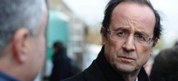 Sondage: François Hollande perd encore trois points de popularité