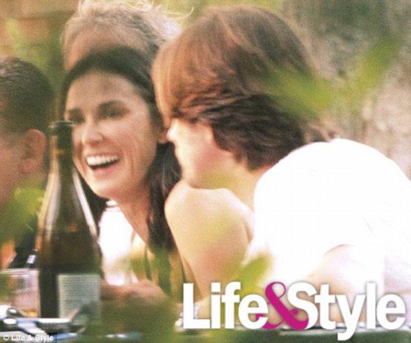 Demi Moore: Elle est so in love de Martin Henderson...