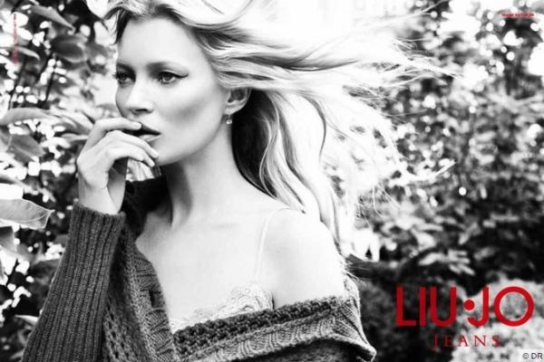 (Photos) Kate Moss poursuit son aventure avec la griffe italienne Liu Jo !