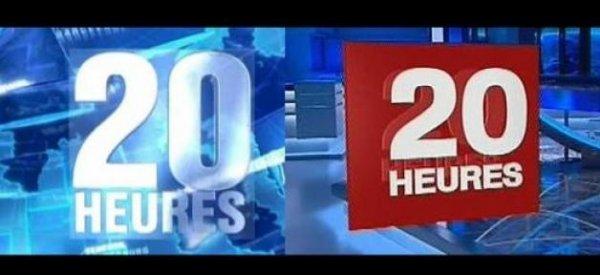Le 20h de TF1 a été battu par le 20h de France 2 hier soir !
