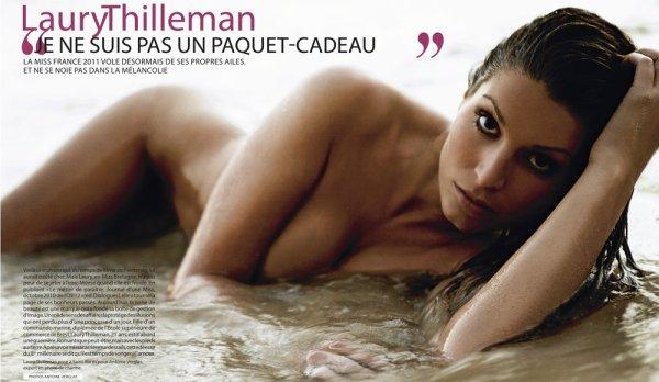 Laury Thilleman (Miss France2011) : Le scandale de ses photos sexy pour Paris Match