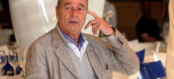 Jacques Chirac : Il apparaît très fatigué sur le port de Saint-Tropez