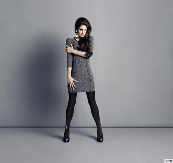 (Photos) Lana Del Rey : So chic pour la collection automne 2012 de H&M !