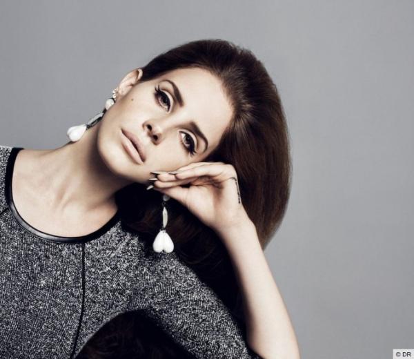 (Photos) Lana Del Rey : So chic pour la collection automne 2012 de H&M !