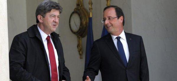 """Jean-Luc Mélenchon : """"François Hollande est un brave homme mais il ne fait rien"""""""