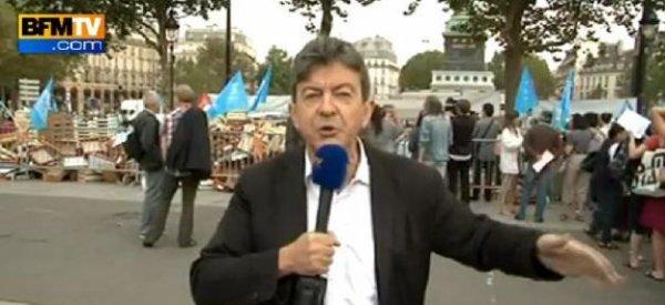 Jean-Luc Mélenchon: Il prend à partie Jean-Marc Ayrault