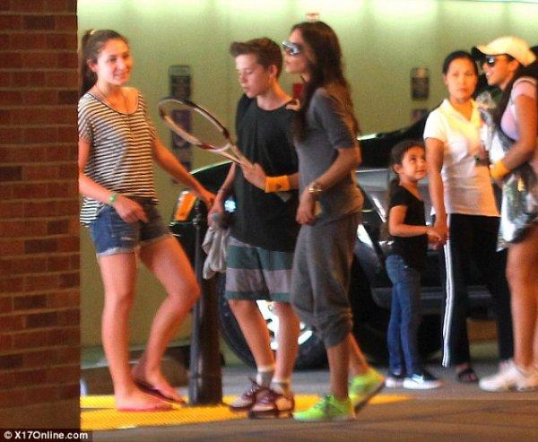 (Photos) Victoria Beckham : Découvrez la photographiée en jogging ! Du jamais vu !