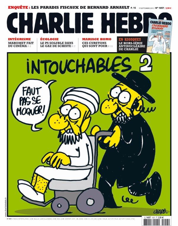 ( Photo) Charlie Hebdo :  75.000 exemplaires écoulé en deux heures grâce au buzz des caricatures de Mahomet