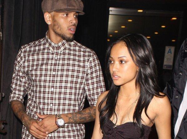 Chris Brown : Karrueche Tran l'aurait largué après sa soirée en boite avec Rihanna