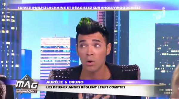 ( Vidéo) Hollywood Girls 2, Le mag : Aurélie vs Bruno, Revivez leur clash en intégralité sur le plateau d'NRJ12