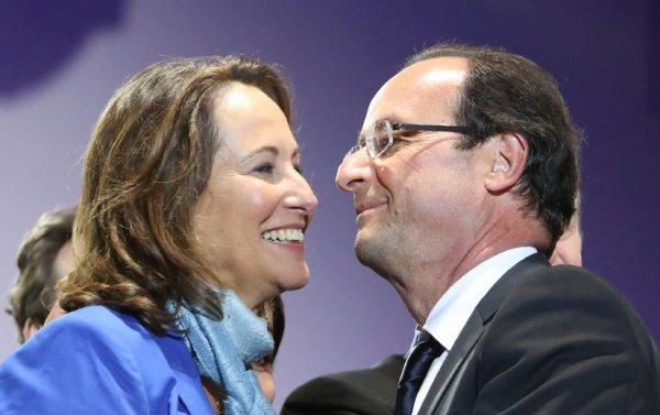 """François Hollande : """" Vous avez vu comme elle est belle, Ségolène… """""""