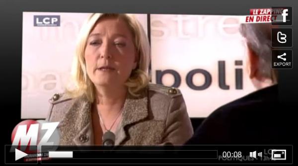 """Marine Le Pen: """"Si Barack Obama était en France, il serait classé à droite"""""""