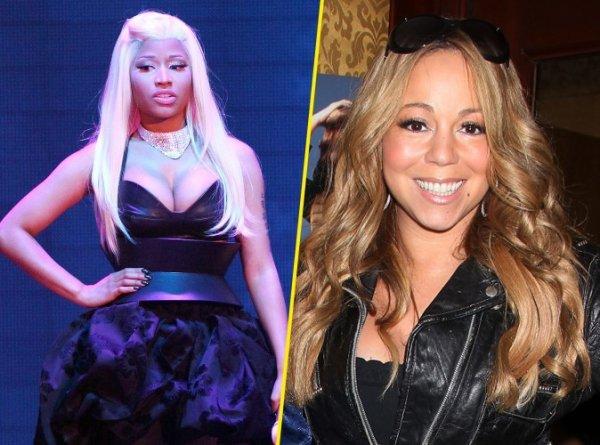 """Nicki Minaj : """"Mariah Carey a avoué qu'elle ne voulait pas d'une autre fille dans American Idol !"""""""