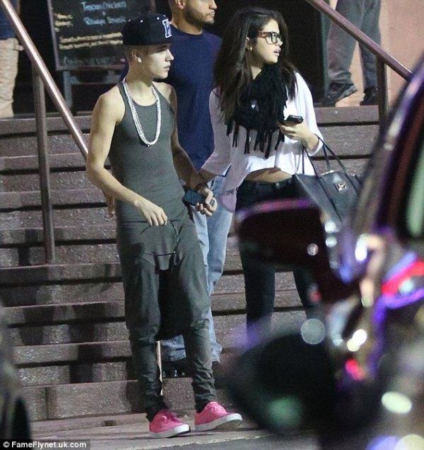 ( Photos) Justin Bieber et Selena Gomez : Leur rendez-vous de la dernière chance à tourné au fiasco !
