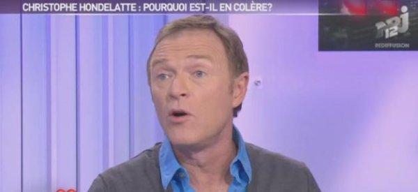 Christophe Hondelatte: Il s'explique sur son clash avec Dave