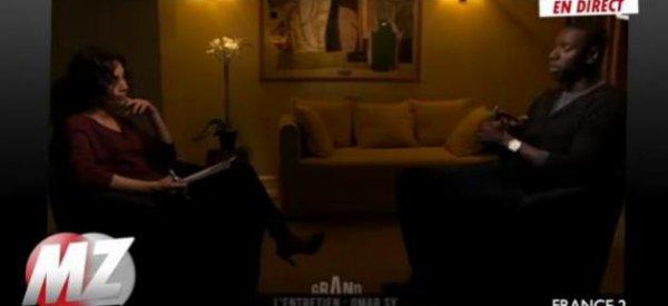 """( Vidéo)  Omar Sy : Il ne veut pas être """"qu'un Noir au cinéma"""""""
