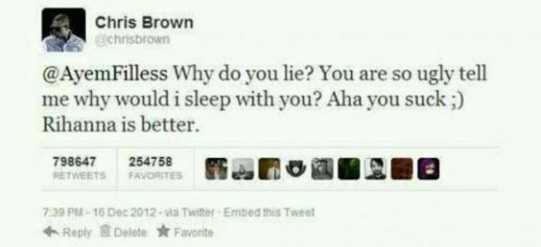 Chris Brown : À t'il clashé Ayem sur twitter ?