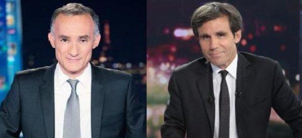 Audiences: Ecart record entre le JT de 20H de TF1 et de France 2