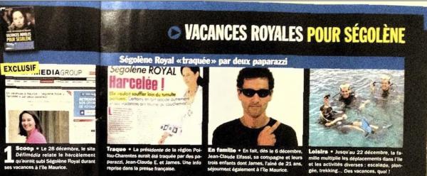 Jean Claude Elfassi : Le paparazzi est en guerre avec  Ségolène Royal
