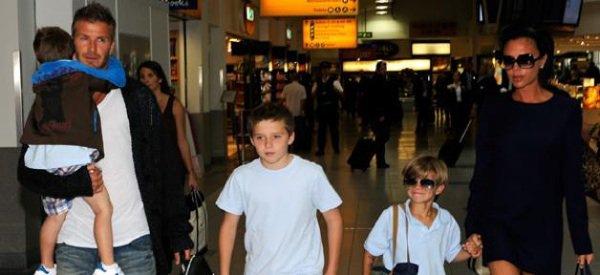 David Beckham : Toute sa famille débarque à Paris