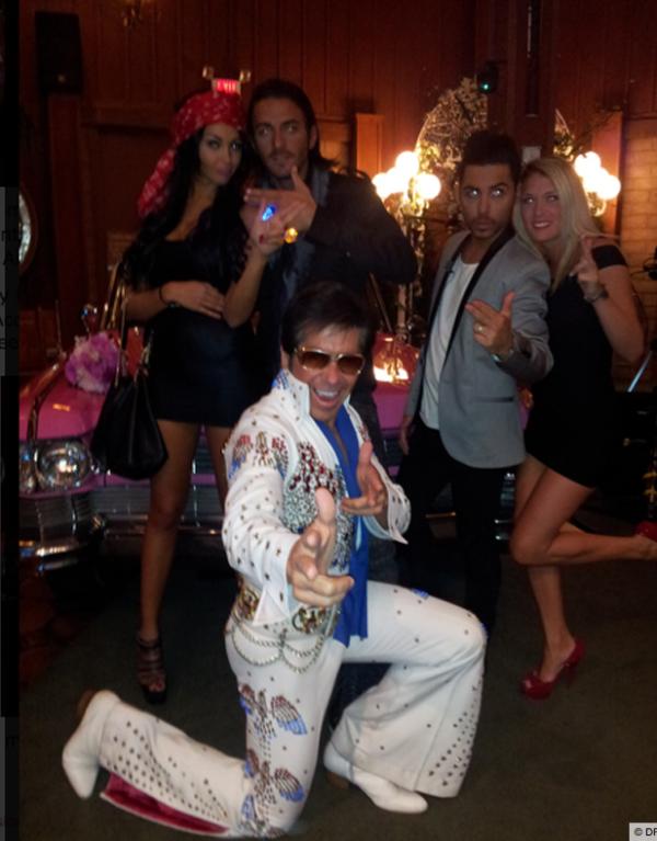 """-Photos- Les Anges 5 : Nabilla et Thomas se sont dit """"oui"""" à Las Vegas !"""