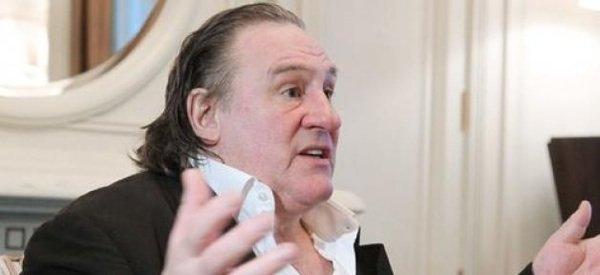 """Gérard Depardieu: Il clash des journalistes, """" Je n'ai rien à vous dire, je veux être en paix"""""""