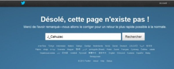 Jérôme Cahuzac: L'ancien ministre délégué au budget a clôturé son compte Twitter