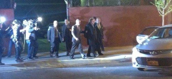 Découvrez la première photo de Gérard Depardieu incarnant DSK, lors de son arrestation aux USA
