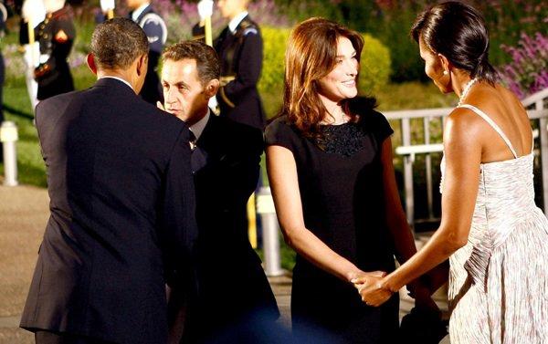 Nicolas & Carla Sarkozy: ils ont fait 31.500 $ de cadeaux aux Obama