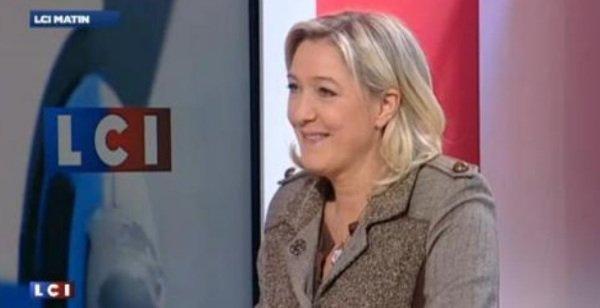 """Marine Le Pen: """"Mélenchon n'est là que pour canaliser la colère. Il n'agit que par ambition personelle."""""""