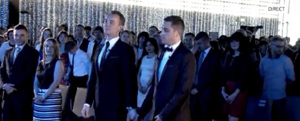 1er Mariage gay: Cinq interpellations pendant la cérémonie