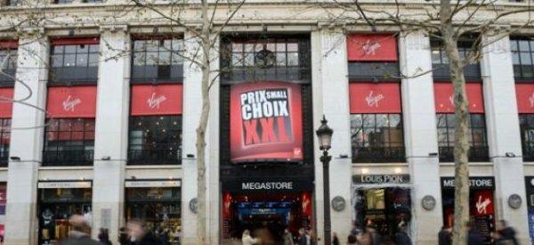 """La direction de Virgin Megastore ferme ses 26 magasins """"pour des raisons de sécurité"""""""