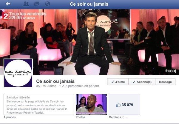 EXCLU ! Ce soir ou jamais: Un post sur Facebook laisse à supposer que l'émission de Frédéric Taddéï pourrait être supprimé