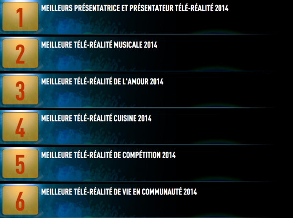 """Après le cinéma et la télévision, la Télé-Réalité va avoir sa propre cérémonie de récompenses ... """" Les Lauriers de Cristal"""""""