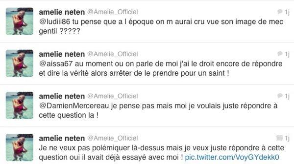 Amélie Netten: Elle accuse son ex,Senna, de s'être montré violent envers elle !