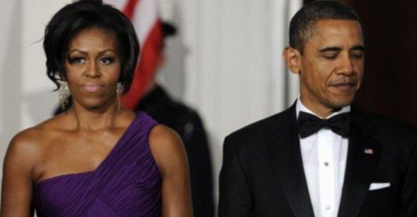 Barack Obama : Le President américain  et son épouse Michelle ont adressé leurs félicitations au prince William et à sa femme Kate
