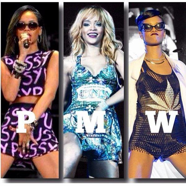 - Photo- Rihanna: Elle fait l'appologie du Sexe, de l'argent et de la drogue en une seule photo