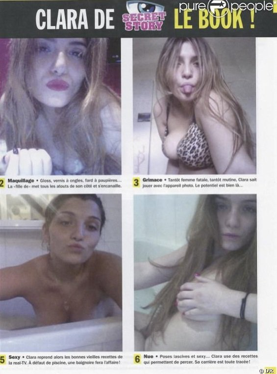 Secret Story 7 : Des photos topless de Clara font le tour du web