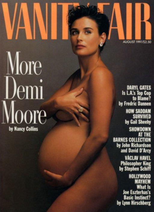 Ingrid Chauvin: Elle fait sa Demi Moore en posant nue et enceinte pour Télé Star