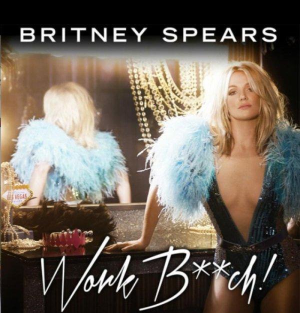 -Audio- Britney Spears: Découvrez avec 24h00 d'avance son nouveau single, #WorkBitch