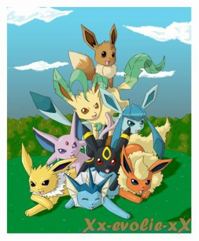 La famille d evoli blog de pookemonde - Famille evoli pokemon ...